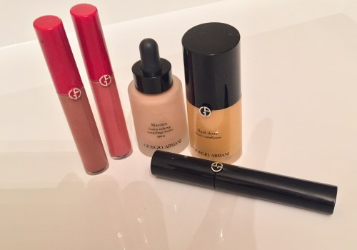 Giorgio armani  must haves makeup ivy says