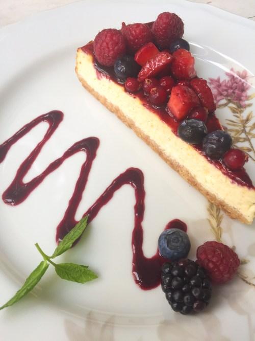 La Crêperie  cheesecake