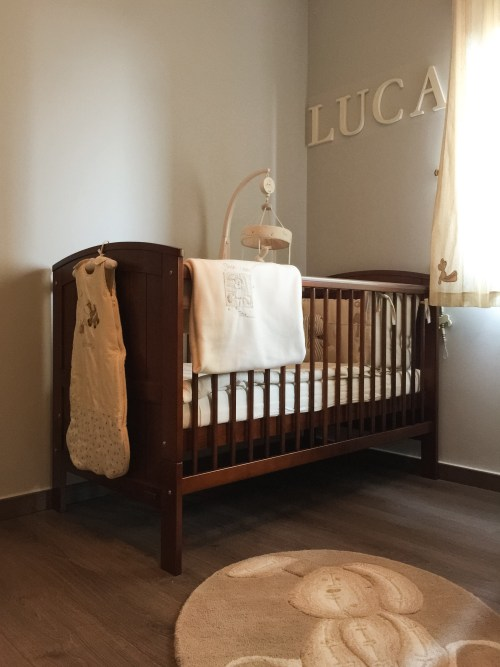 Luca Ivy says baby nursery decor