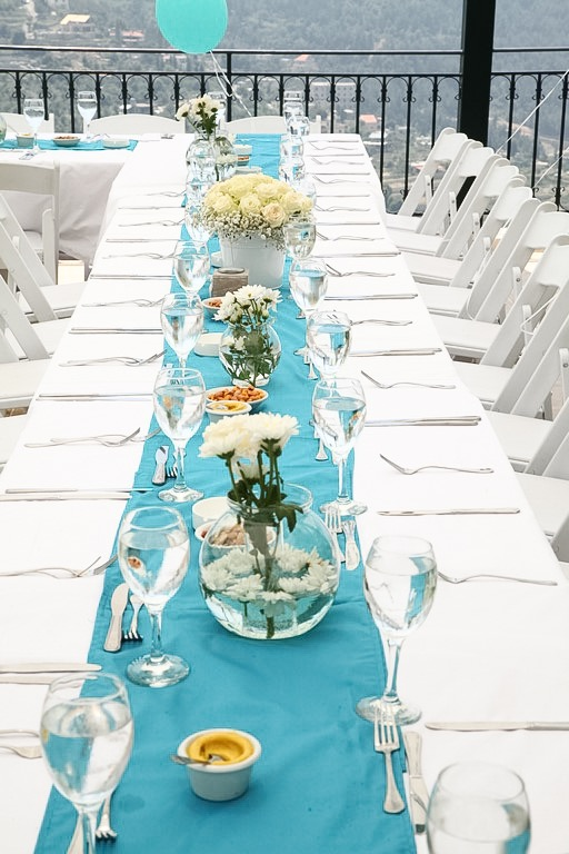 tiffany blue baptism