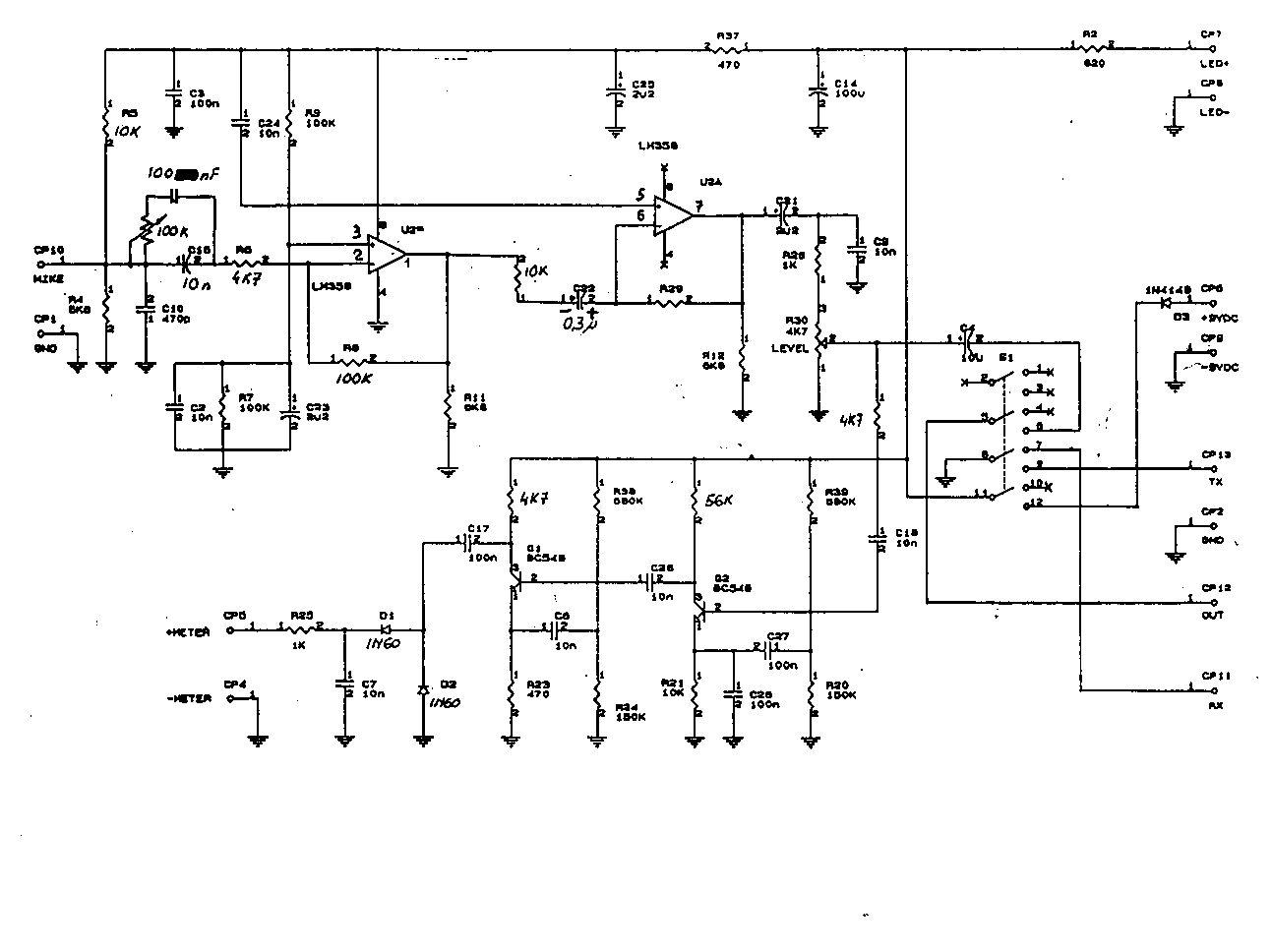 turner microphone wiring diagram