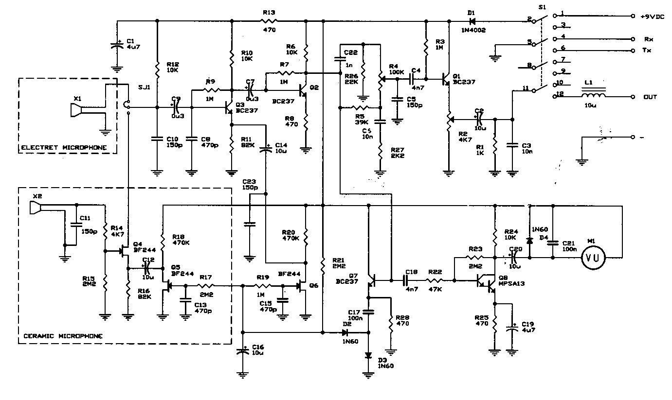 4 Pin Cb Mic Wiring Diagram 4 Pin Cobra Wiring-Diagram