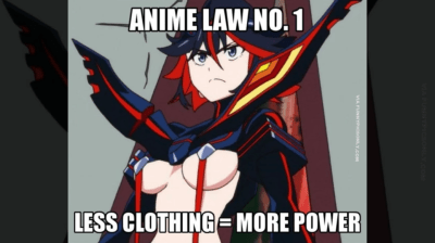 「肌の露出が多いヒロインほど強い?」日本アニメの超絶ロジックに対する海外の反応