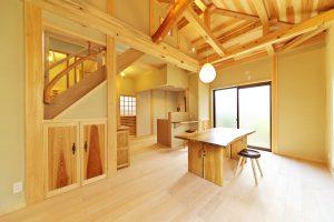 匠が作る木造住宅のイメージ