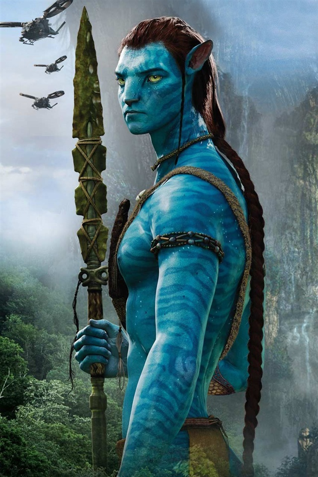 Avatar D Wallpaper Avatar Blue Man Iphone X 8 7 6 5 4 3gs Wallpaper Download