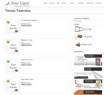 desarrollo web escritor tienda