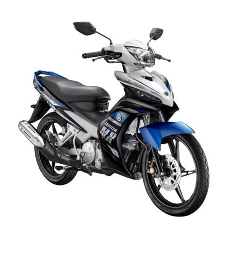 Jupiter MX hand clutch biru