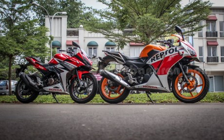 honda all new CBR150R vs old CBR150R (10)