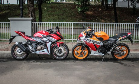 honda all new CBR150R vs old CBR150R (18)