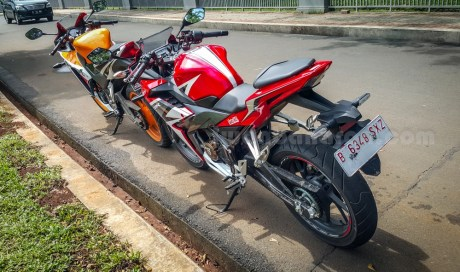 honda all new CBR150R vs old CBR150R (19)