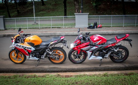 honda all new CBR150R vs old CBR150R (4)