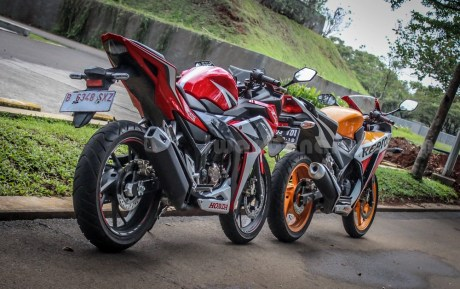 honda all new CBR150R vs old CBR150R (8)