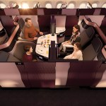 """Qatar Airways Unveils New QSuite – Double Beds & """"Private Rooms"""" in Business Class"""