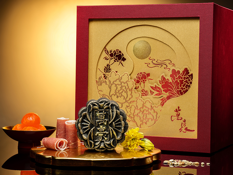 mooncakes from singapore marriott tang plaza (source: hotel)