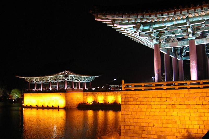 anapji pond in gyeongju