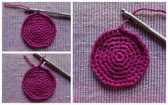 πώς αλλάζουμε νήμα & χρώμα όταν πλέκουμε κύκλους