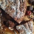 κέικ βύσσινο με φουντούκια & σοκολάτα