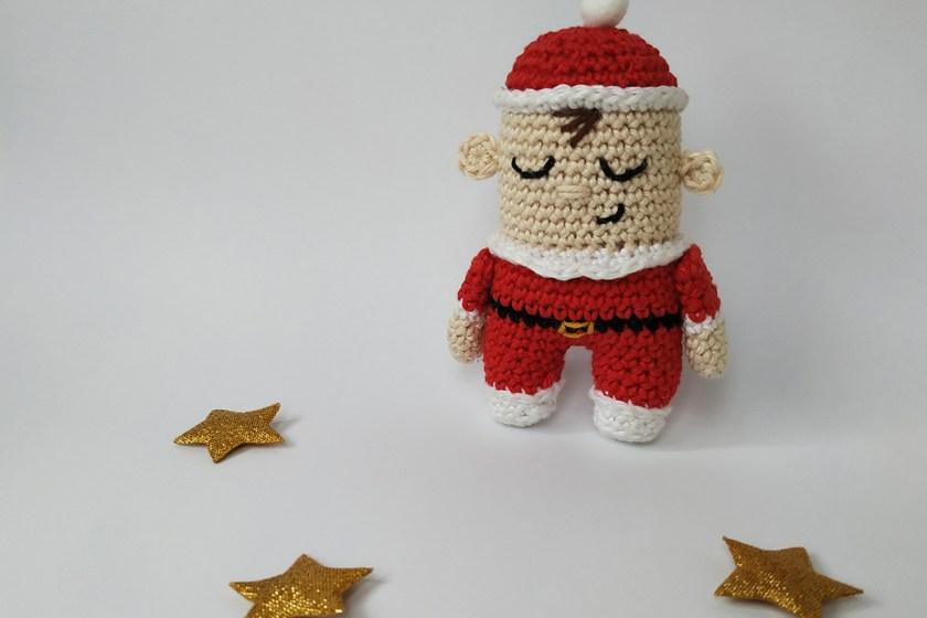 Crochet Baby Santa