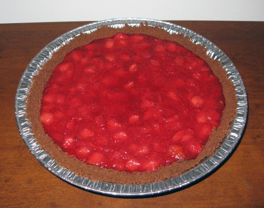 Pie After Baking