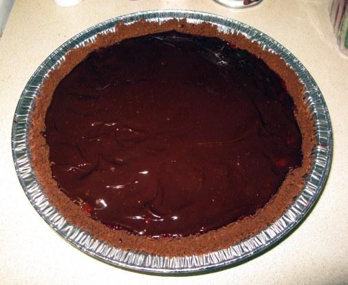 Pie with Ganache
