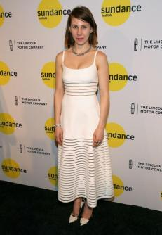 NEW YORK, NY - JUNE 04: Actress Zosia Mamet attends the Sundance Institute New York Benefit 2014 at Stage 37 on June 4, 2014 in New York City. (Photo by Paul Zimmerman/WireImage)