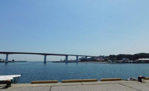 晴れた日tの三崎と城ケ島大橋