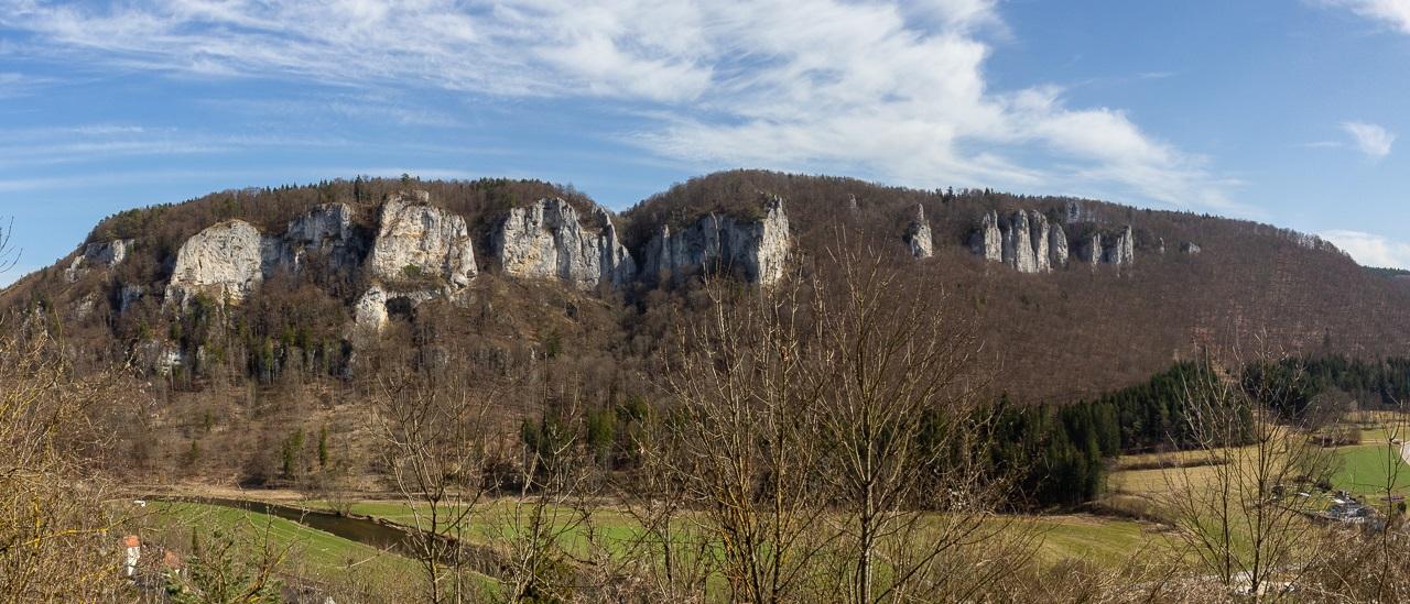 Die Schwäbische Alb und das Donautal