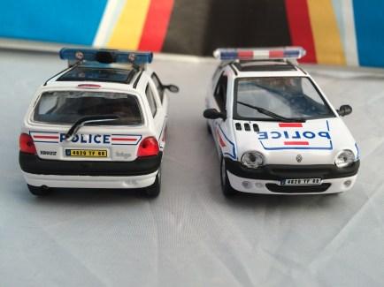 Renault Twingo Police Oliex Hongwell Toys (3)
