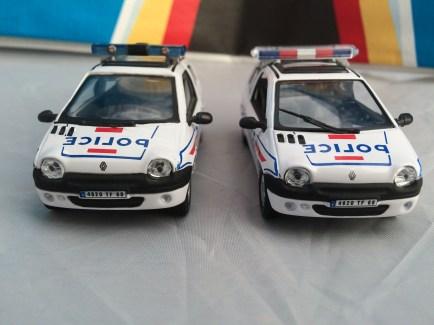 Renault Twingo Police Oliex Hongwell Toys