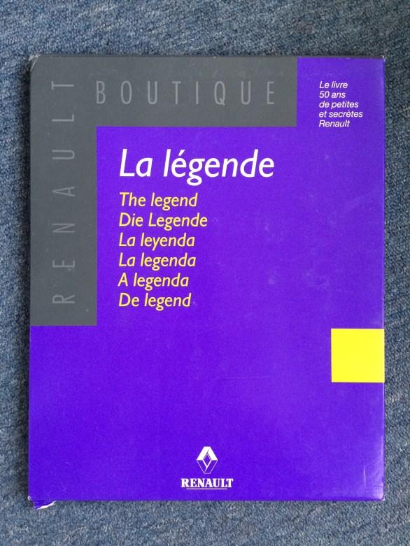 La Legende 50 ans de petites et secretes Renault 7711147490
