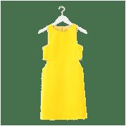 Yellow Cutout Dress, $150