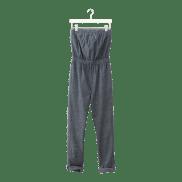 Chambray Jumpsuit, $140