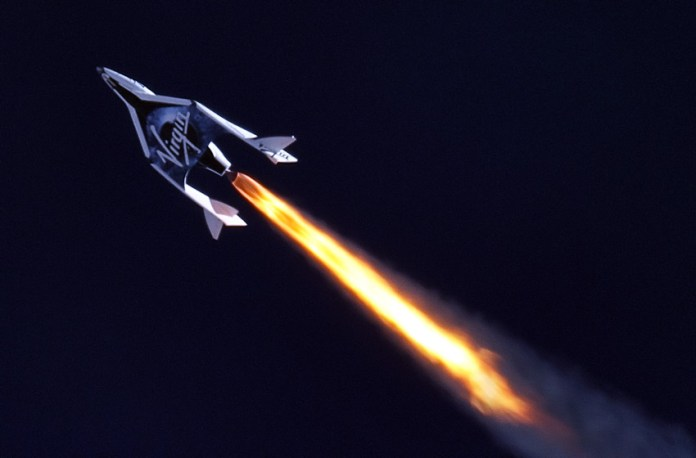 Virgin Galactic conducted a historic first supersonic test flight of SpaceShipTwo
