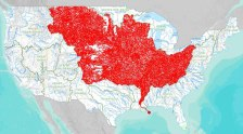 The 7000 Rivers that Feed into the Mississippi