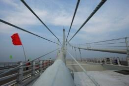 China Opens World's Longest Sea Bridge