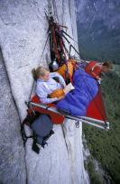 Portaledge camping at Yosemite