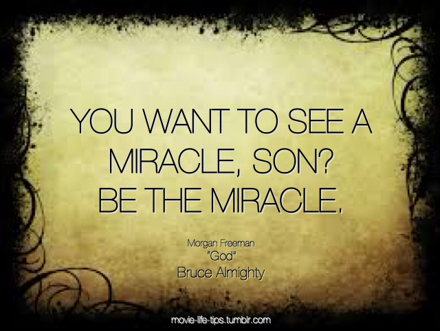 Bruce Almighty - Be The Miracle