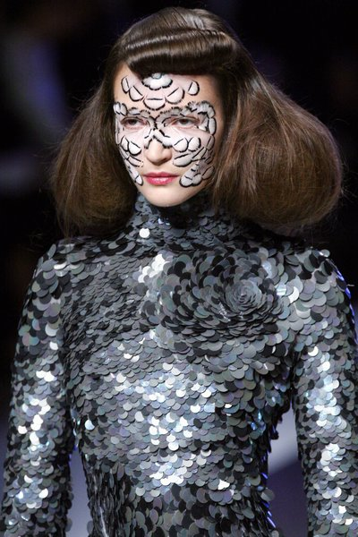 Paris Fashion Week Spring 2008 - Alexander McQueen