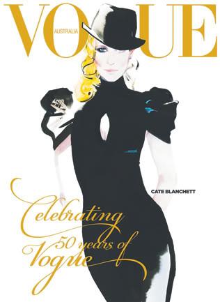 Cate Blanchett by David Downton - Vogue Australia September 2009