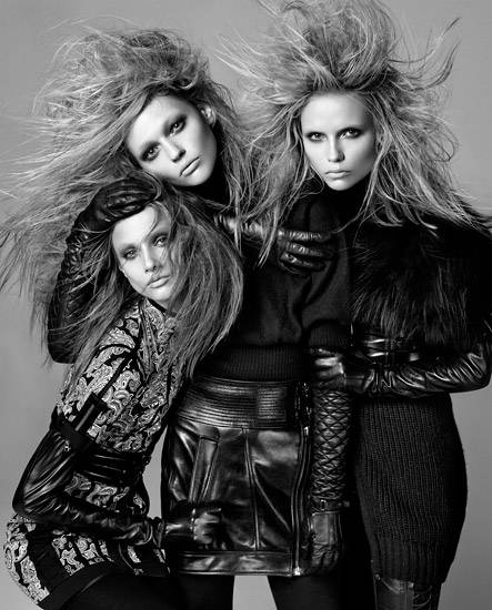 Phi Fall 2009 ad campaign by Steven Meisel