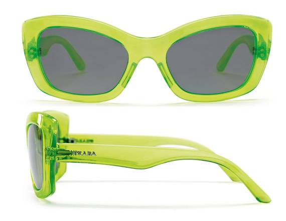 Postcard Sunglasses by Prada