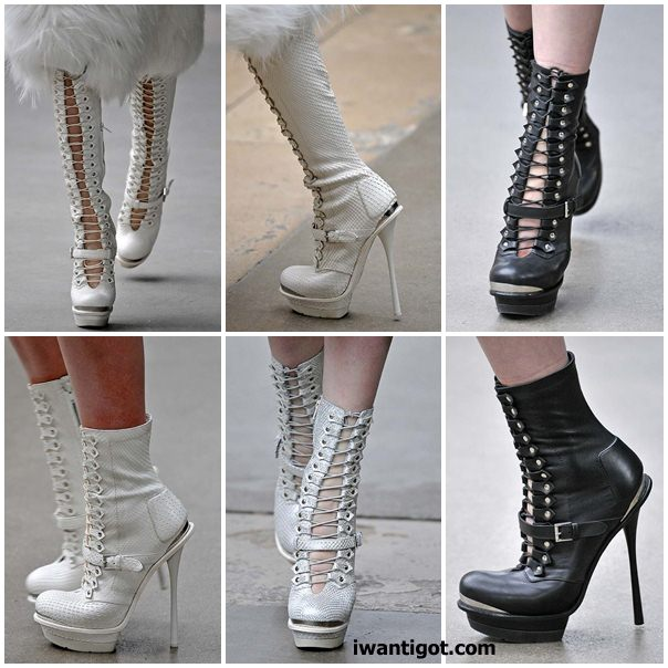 Alexander McQueen Fall Winter 2011 - 2012 Shoes