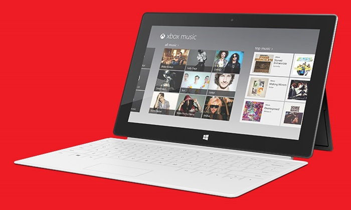 Microsoft SurfaceRT