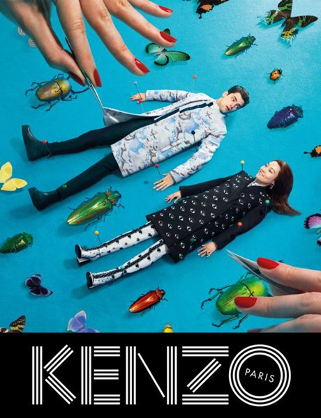 Kenzo Fall - Winter 2013 -2014 Ad Campaign