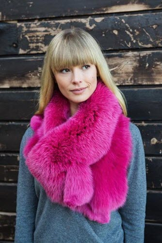 Linda Lundstrom Fox Cowl Collar