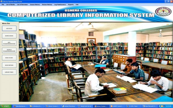 Library System Visual Basic .NET with MySql and Crystal Reports