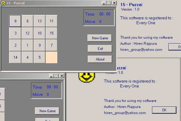 Puzzle Game Visual Basic
