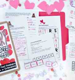 Save Your Sanity with 4 {FREE} February Printables - I Want to be a Super  Teacher [ 800 x 1200 Pixel ]