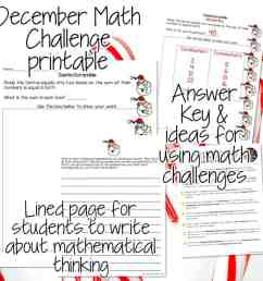 Santa Scramble Math Challenge: A Festive Freebie Download - I Want to be a  Super Teacher [ 960 x 960 Pixel ]