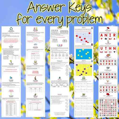 small resolution of Easter Math Challenges \u0026 Brainteasers 2nd \u0026 3rd Grade Math Activities for  April - I Want to be a Super Teacher